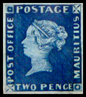 Mauritius Post Office Stamps 1847